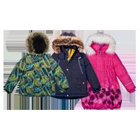 Зимние куртки и пальто Kerry в интернет-магазине KinderSmile.ru